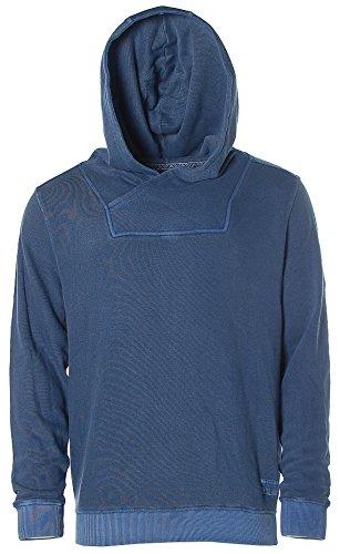 Kitaro -  Felpa  - Con cappuccio  - Maniche lunghe  - Uomo Basalt Blue