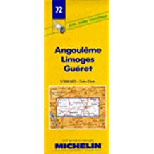 Angouleme-Limoges-Gueret (Michelin Maps)