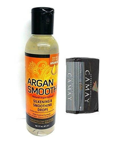 Argan lisse soyeuse et Lissage Gouttes 175 ml