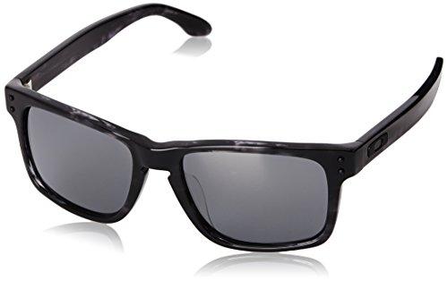 Oakley Holbrook OO 2048 EDIZIONE LIMITATA Rechteckig Sonnenbrille, Dark Grey Tortoise/Black Iridium (S3)
