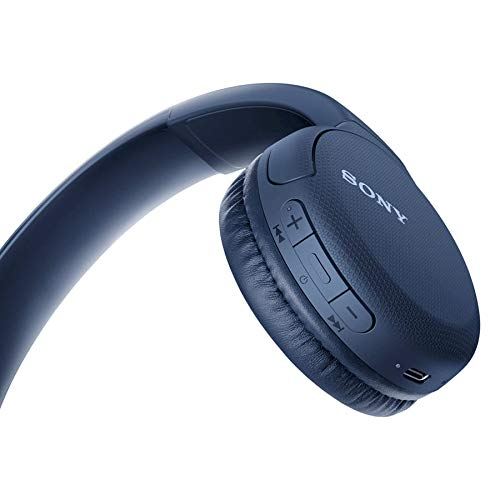 SONY WH-CH510 Wireless Headphone Blue Image 2