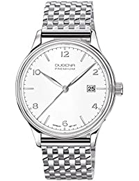 Dugena Herren-Armbanduhr Minor - Traditional Classic Analog Quarz Edelstahl 7090245