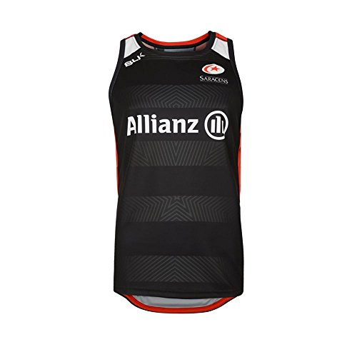 saracens-2016-17-players-rugby-training-singlet-black-red-size-xs