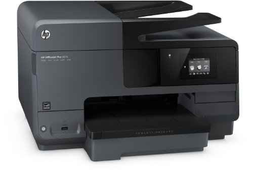 Bild 4: HP Officejet Pro 8610 All-in-One Multifunktionsdrucker (Drucker, Kopierer, Scanner, Fax, Wlan, Duplex, USB, 4800 x 1200 dpi) schwarz