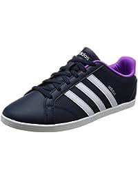 best website 164d0 d483f adidas Unisex-Erwachsene Zapatillas Vs Coneo QT W FtwblaGridos  Fitnessschuhe, weiß,