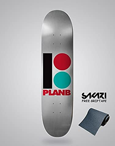 Monopatín skate skateboard PLAN B TEAM B FOIL 8,3
