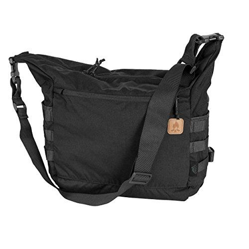 BUSHCRAFT Satchel Bag Tasche - Cordura® - Black Schwarz (Handtasche Satchel Patent)