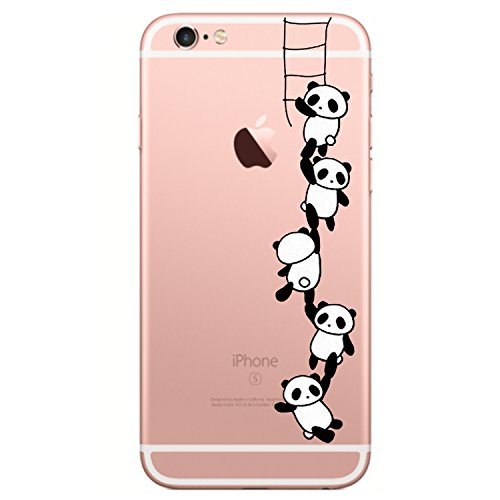 Pacyer iphone 6/6s custodia panda tpu case gel protettivo skin shell case cover per apple iphone 6 6s (4,7