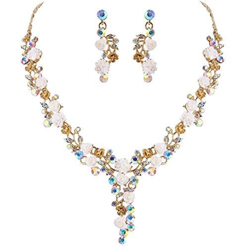 ever-faith-gold-tone-austriaco-di-cristallo-bianco-lotti-camelie-collana-orecchini-set-iridescente-c