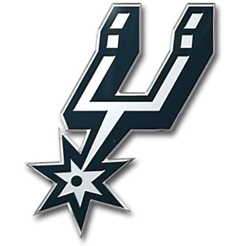 NBA San Antonio Spurs Color Auto Emblem, One Size, One Color