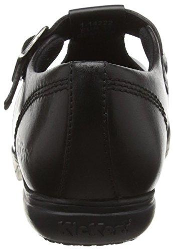 Kickers Kickers Keavy Mj, Mary Jane fille Noir - Noir