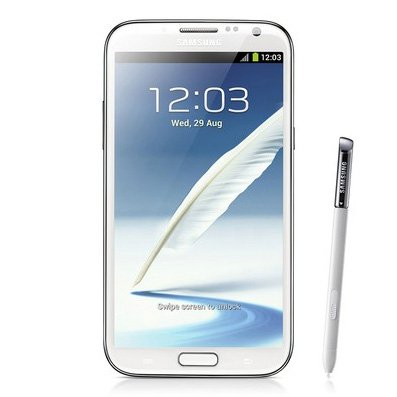 Samsung GALAXY Note II LTE Smartphone (14 cm (5,5 Zoll) AMOLED-Touchscreen, Cortex A9, Quad-Core, 1,6GHz, 2GB RAM, 8 Megapixel Kamera, Android 4.1)