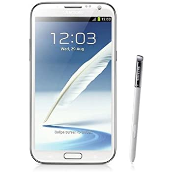 Samsung GALAXY Note II LTE Smartphone (14 cm (5,5 Zoll) AMOLED-Touchscreen, Cortex A9, Quad-Core, 1,6GHz, 2GB RAM, 8 Megapixel Kamera, Android 4.1) marble-weiß