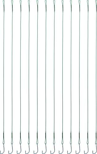 12 Raubfischvorfächer mit Haken in verschiedenen Hecht Zander Barsch als Set, Größe:Set