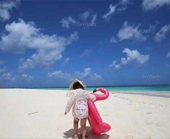Baby Schwimmsitz Rosafarbener Flamingo Aufblasbar Kinder Schwimmring Einhorn Cartoon Aufblasbares Schwimmreifen Badespielzeug (Baby Schwimmring, Baby Flamingo) 1