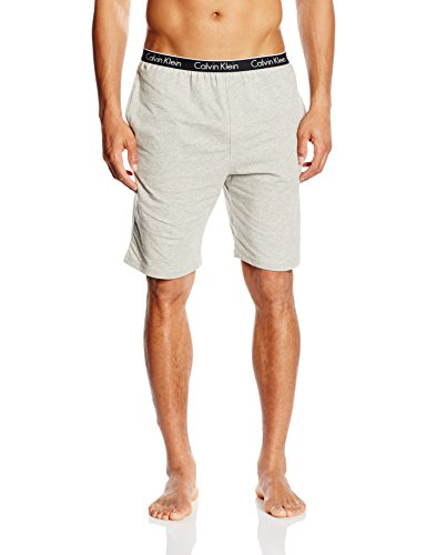 Calvin Klein Herren Sport shorts 000NM1226E, Gr. Small, Grau (GREY HEATHER 080) (Sportswear Calvin Klein)