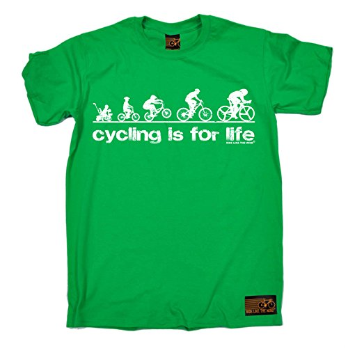 9cd30b37a53 Cycling Tee - Cycling is for Life - Bicycle Cycle Funny Top Accessories Birthday  Tee Gift