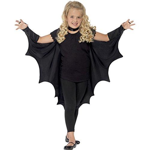 Vampir Fledermausflügel Kinder Fledermaus Flügel Halloween Vampirflügel Bat Wings Dracula Umhang Vampir Kostüm Accessoire Karnevalskostüme Tier