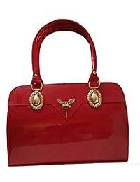 PU Leather Shoulder Bag For Women - Top Handle Satchel Shell Bag - Super Stylish/Fancy Designer Handbag For Women...