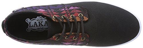 Lakai Camby Mid Oasis, Chaussures de skateboard homme Noir (Black Textile)