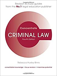Criminal Law Concentrate Law Revision and Study Guide 4/e