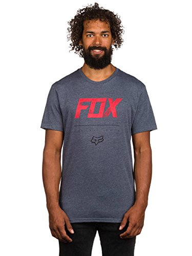 Fox T-Shirt Impulsive Heather Black Grau