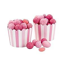 Talking Tables - Coppette Regalo Mischia e Trova, Confezione da 20 unità, Colore: Rosa