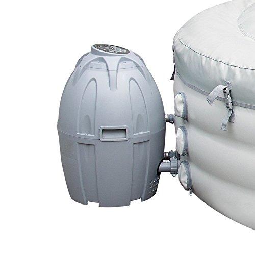 Bestway Lay-Z-Spa Filter und Heizungs-Heiz-Einheit (Miami, Palm Springs, Monaco und Vegas)-grau Whirlpool Heizung