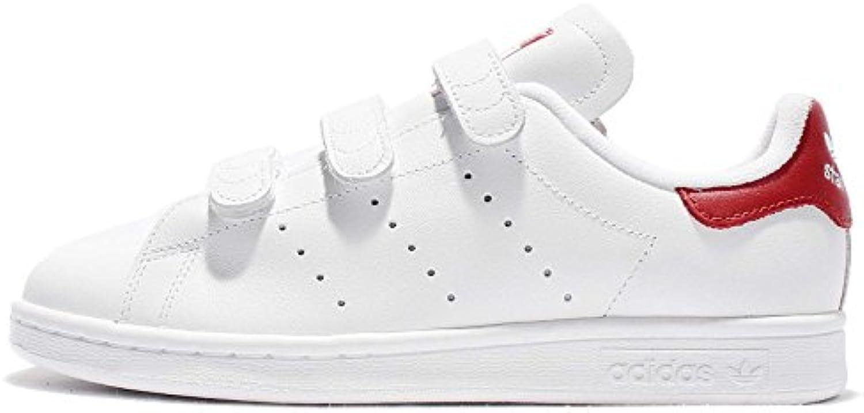 adidas Herren Stan Smith Sneaker  weisssszlig