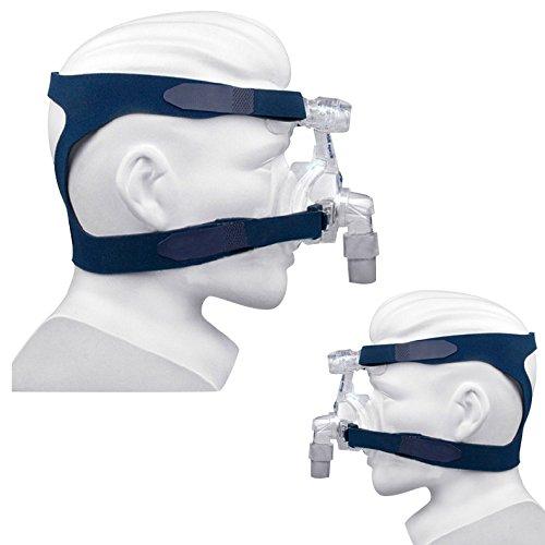 Genmine Kopfbedeckung ohne Maske Komfort Gel Vollmaske Ersatzteil CPAP Kopfband für Respironics Resmed Resmart