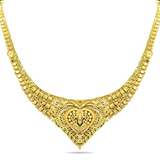 Candere By Kalyan Jewellers 22K (916) Yellow Gold Necklace for Women