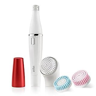 Braun 852Ruby Edition Face Bürste für die Reinigung des Gesichts und Epilierer
