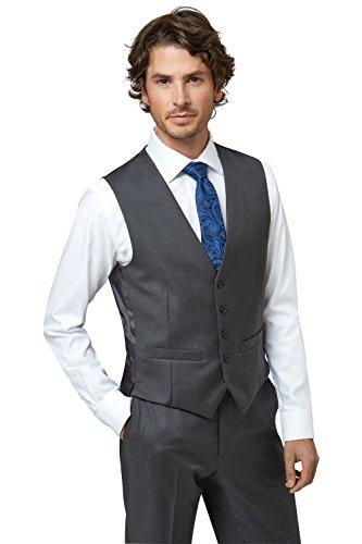lanificio-flli-cerruti-dal-1881-cloth-mens-tailored-fit-charcoal-waistcoat-40r-grey