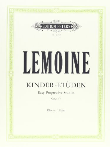 Kinder-Etüden op. 37: für Klavier