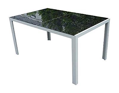 7teiliges Gartenmöbel-Set Gartengarnitur-Set GM7 Black