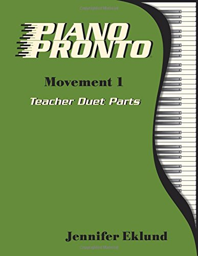 Piano Pronto® Teacher Duets: Movement 1 (Piano Pronto)