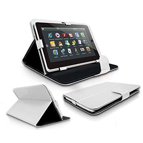 Preisvergleich Produktbild Lexibook Ultra 3XL 22,9 cm / 9 zoll Tablet PC Tasche mit Aufstellfunktion - 9 Zoll Weiß