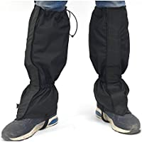 TourKing Leg Gaiters Waterproof Snowproof Windproof para hombres mujeres Camping, Senderismo, Caminar, Escalar, Esquiar