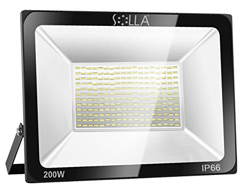 Foco LED 200W IP66 Luz Seguridad Exterior Impermeable