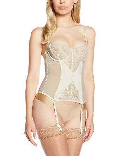 wonderbra women's refined glamour basque bustier - 41TAjmLoT9L - Wonderbra Women's Refined Glamour Basque Bustier