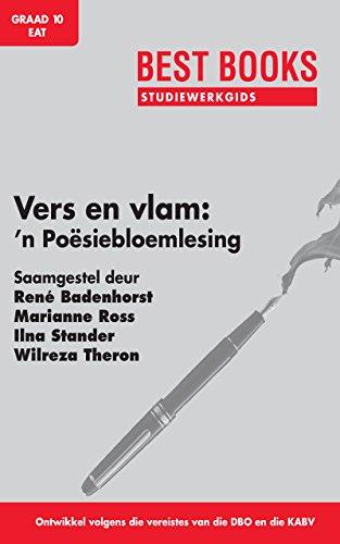 Vers en Vlam: Studiewerkgids (Best Books Studiewerkgidse) (Afrikaans Edition) por Ilna Stander