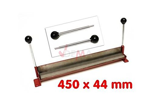 Plieuse à tôle manuelle 450 x 44 mm courbure 90° pour petites pièces