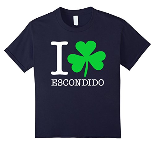 kids-i-love-shamrock-escondido-funny-t-shirt-10-navy