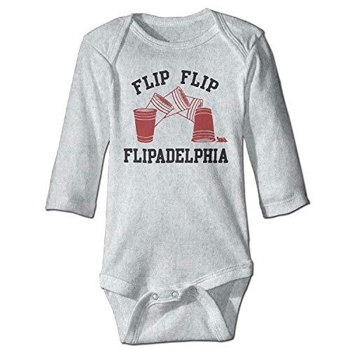 MSGDF Unisex Toddler Bodysuits Its Always Sunny In Philadelphia Boys Babysuit Long Sleeve Jumpsuit Sunsuit Outfit Ash