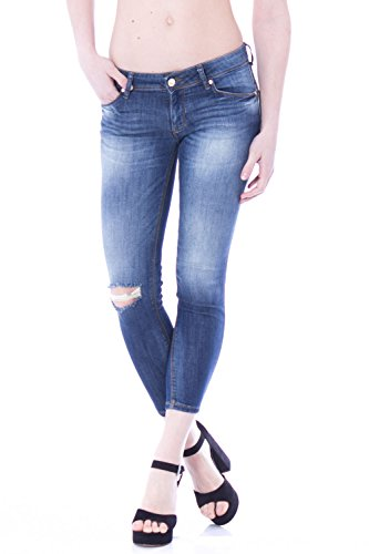 GAUDI - Jeans da donna skinny fit 73bd26224 Denim scuro