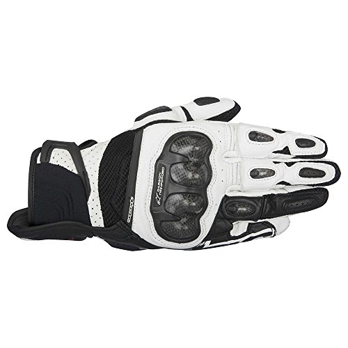 Price comparison product image Alpinestars SP-X Air Carbon Gloves Black/White 3XL