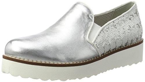 Marc Shoes 64508, Mocasines Mujer, Gris (Grau-254), 42 EU