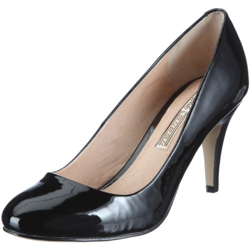 Buffalo London 109-5046 PATENT COW LEATHER 114390 Damen Pumps, Schwarz (BLACK 01), EU 39