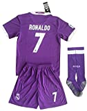 Real Madrid Away Ronaldo 7 Soccer Jersey...