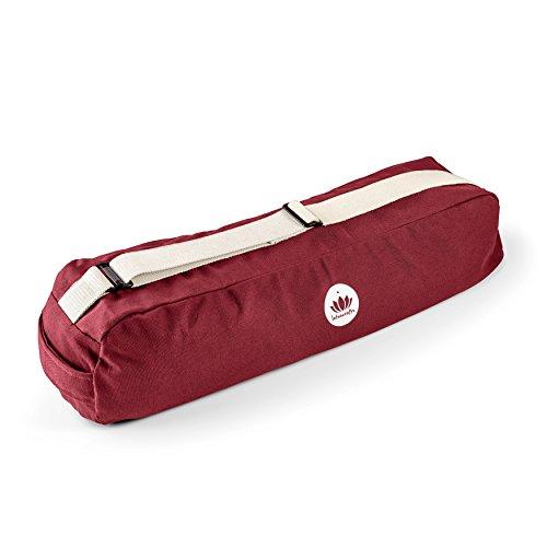Lotuscrafts Yogatasche PUNE aus Bio-Baumwolle - Fair & Ökologisch hergestellt - Yogamattentasche groß mit extra viel Platz - Tasche für ...